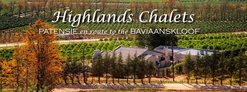 Patensie Self Catering Accommodation Baviaanskloof